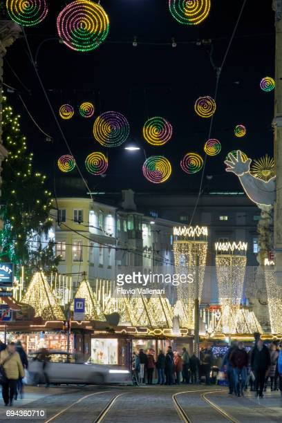 Linz at Christmas, the Hauptplatz - Austria