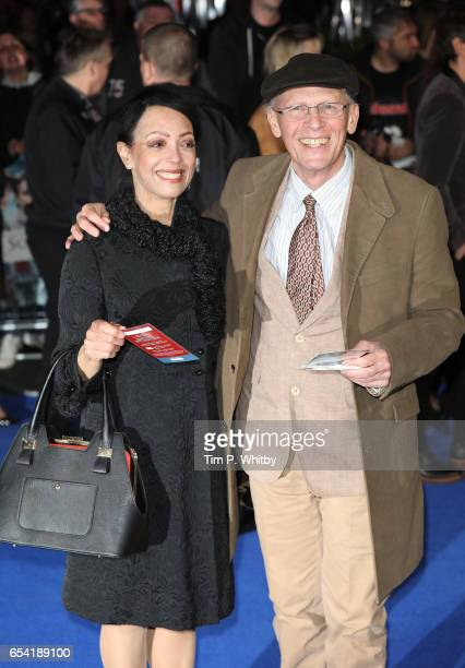 Linzi Beuselinck and Paul Nicholas attend the World Premiere of Another Mother's Son on March 16 2017 at Odeon Leicester Sqaure in London England