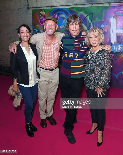 Linzi Beuselinck Paul Nicholas James Rado and Elaine Paige attend the 50th anniversary production of 'Hair The Musical' at The Vaults on October 17...