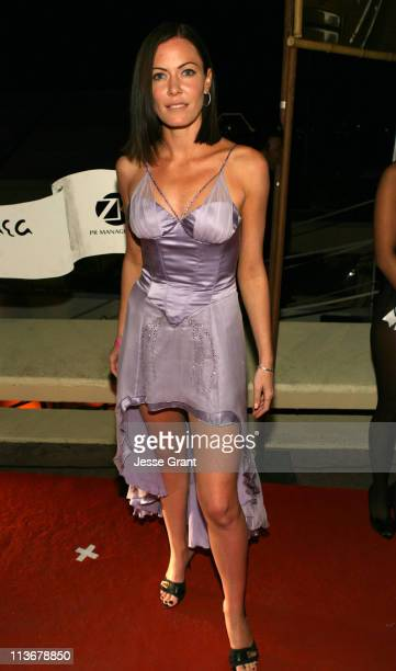 Linzi Stoppard at Pangaea Soleil Cannes during 2006 Cannes Film Festival 50 Years of Playboy Arrivals at Pangea Soleil in Cannes France