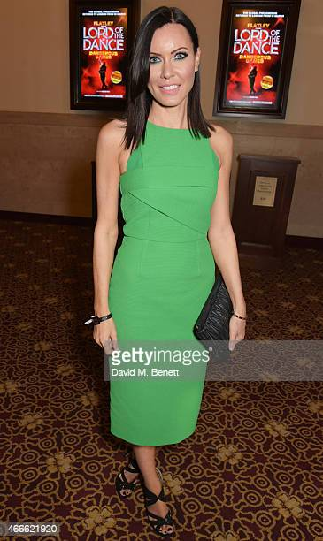 Linzi Stoppard attends the after party following the Gala Performance of 'Lord Of The Dance Dangerous Games' at The Dominion Theatre on March 17 2015...