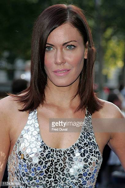 Linzi Stoppard during 'Fantastic Four Rise Of The Silver Surfer' World Premiere at Vue West End Leicester Square in London Great Britain
