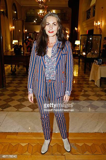 Lio attends the Nathalie Garcon's Book Signing Cocktail Party At Hotel Regina on October 13 2014 in Paris France
