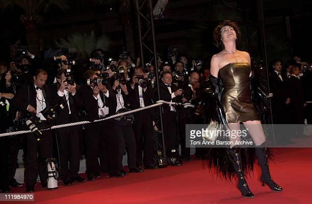 Lio during Cannes 2002 About Schmidt Premiere at Palais des Festivals in Cannes France