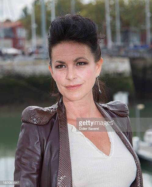 Lio poses during the 'Tiger Lily' Photocall at La Rochelle Fiction Television Festival on September 15 2012 in La Rochelle France