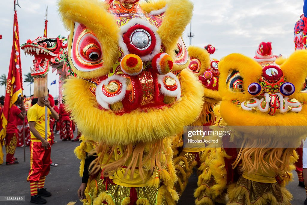 chinese new year celebrated in cambodia10 pictures embed embedlicense lion dancers prepare to perform in front of the royal palace on january 30 2014 - When Is Chinese New Year Celebrated
