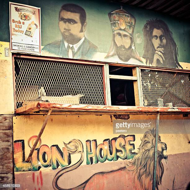 lion house. - kingston jamaica stock pictures, royalty-free photos & images