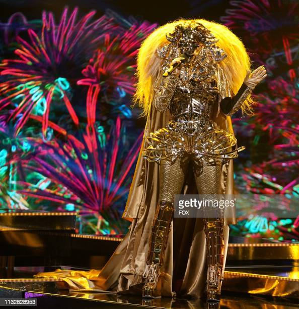 Lion in the Semi Finals Double Unmasking episode of THE MASKED SINGER airing Wednesday Feb 20 on FOX