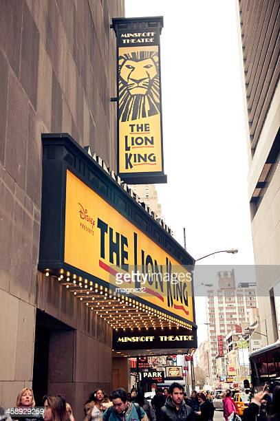 lion king on broadway - the lion king named work stock photos and pictures