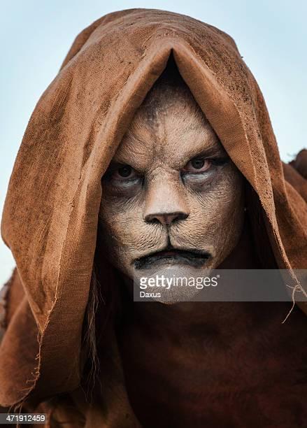 ライオンの男性