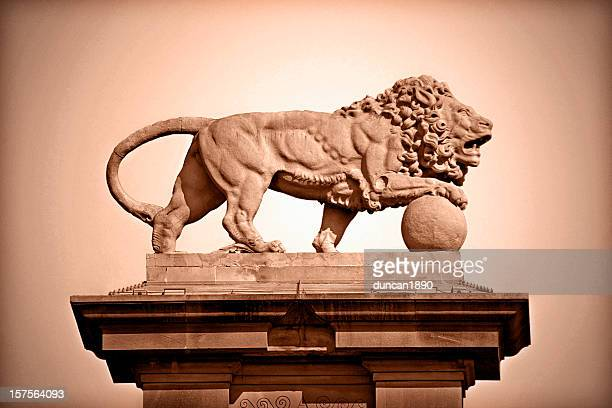 獅子像 - 新古典派 ストックフォトと画像