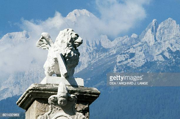 Lion of St Mark Agordo Veneto Italy