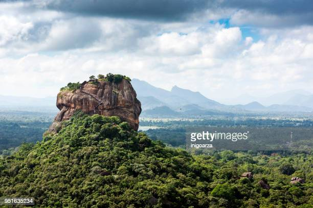 Lion rock, Dambulla, Matale District, Central Province, Sri Lanka