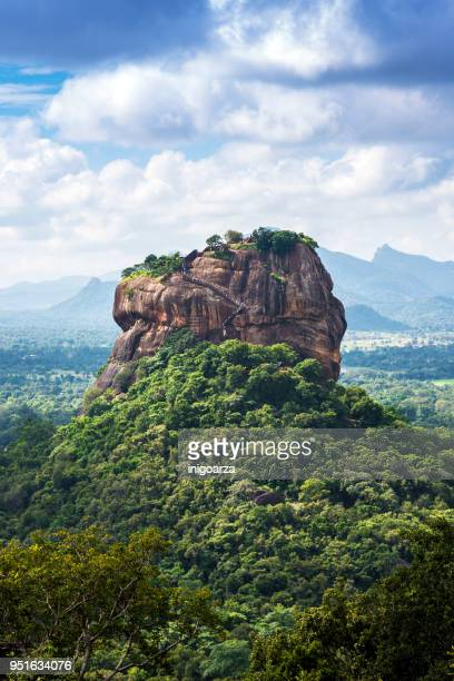Lion Rock viewed from Pinduragala Rock, Central Province, Sri Lanka