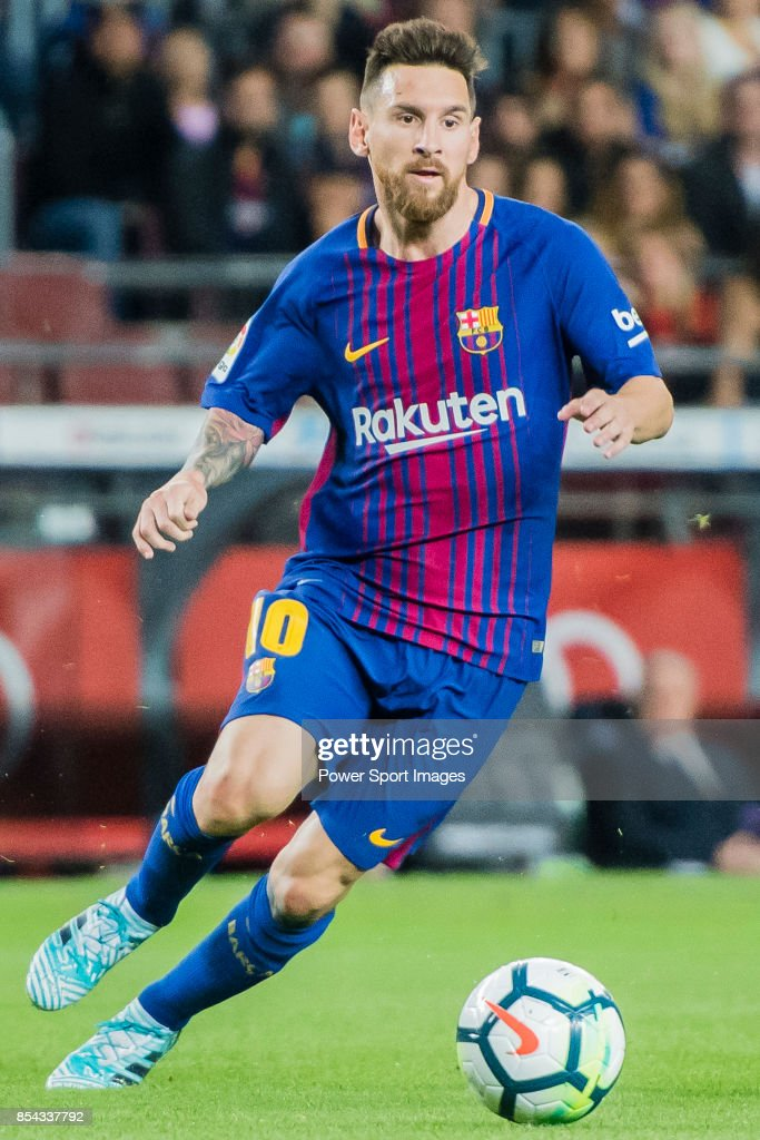 La Liga 2017-18 - FC Barcelona vs SD Eibar : News Photo