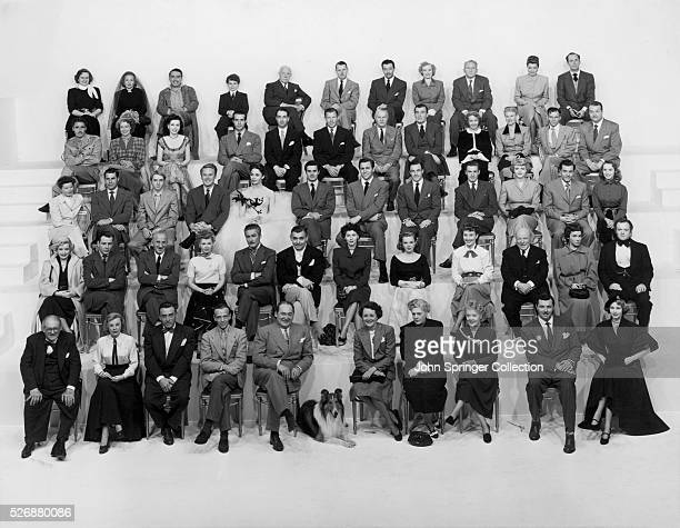 Lionel Barrymore, June Allyson, Leon Ames, Fred Astaire, Edward Arnold, Lassie, Mary Astor, Ethel Barrymore, Spring Byington, James Craig, Arlene...