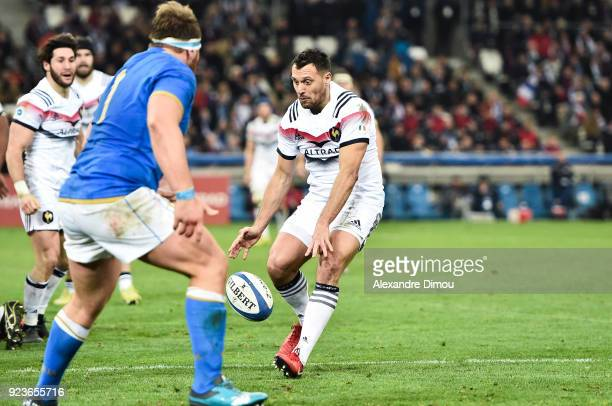 Lionel Beauxis of France during the NatWest Six Nations match between France and Italy at Stade Velodrome on February 23 2018 in Marseille France