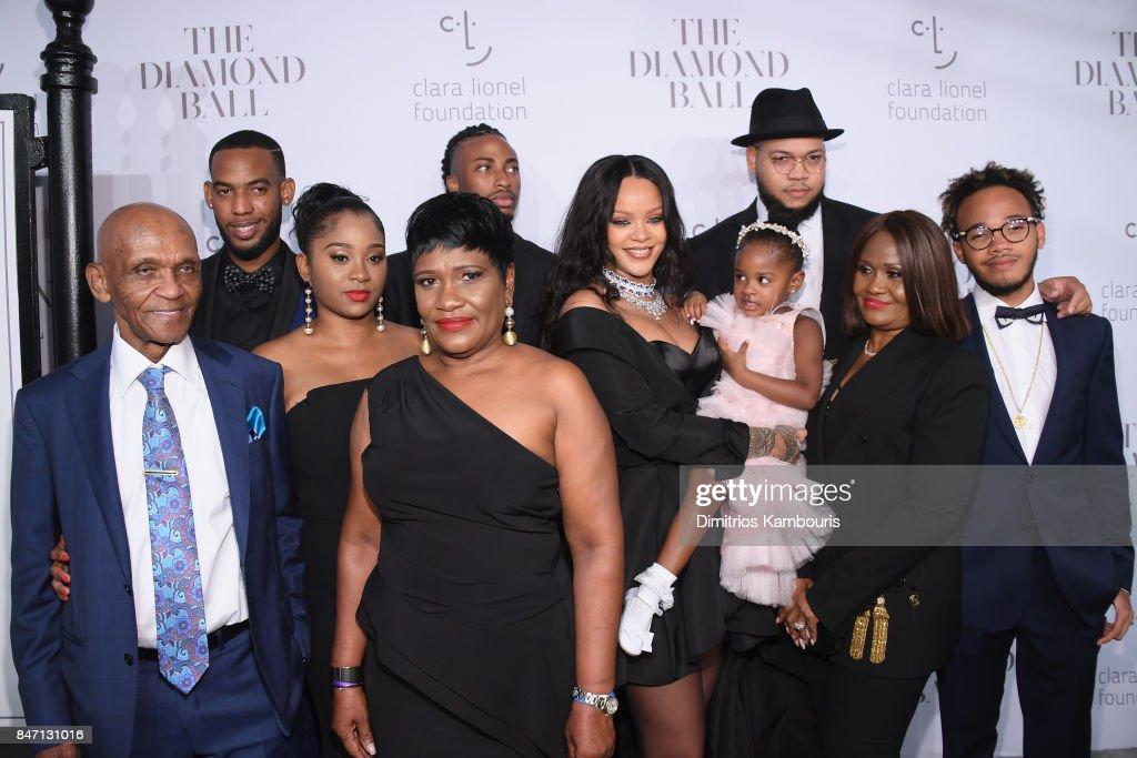 Rihanna's 3rd Annual Diamond Ball Benefitting The Clara Lionel Foundation at Cipriani Wall Street - Arrivals : News Photo