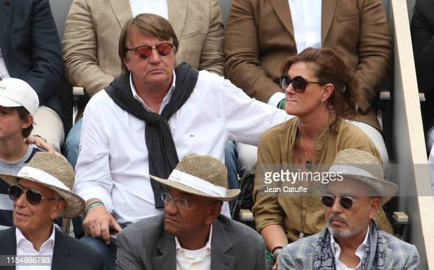 Lionel Chamoulaud attends the men's final during day 15 of the 2019 French Open at Roland Garros stadium on June 9 2019 in Paris France
