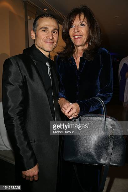 Lionel Comole and Framboise Holtz attend the Arthritis Foundation Gala Dinner at Pavillon Gabriel on October 22 2012 in Paris France