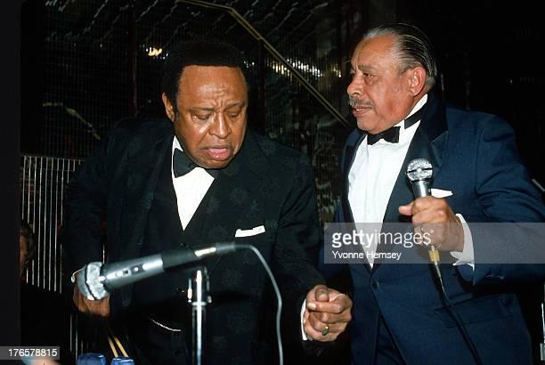Lionel Hampton and Cab Calloway perform at Regine's December 3 1980 in New York City