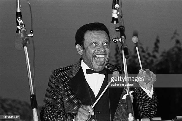 Lionel Hampton at the Nice Jazz Festival