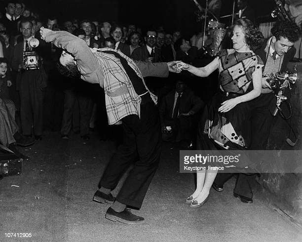 Lionel Hampton Dancing Rock N Roll At Earls Court Exhibition Centre In London On October 1956