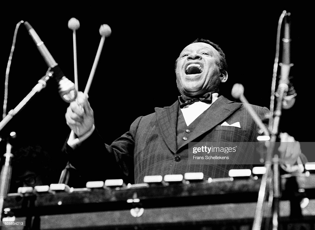 Lionel Hampton performs live on stage at Vredenburg in Utrecht, Holland on May 02 1982