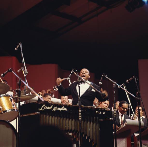 Lionel Hampton , U.S. jazz musician and bandleader,...