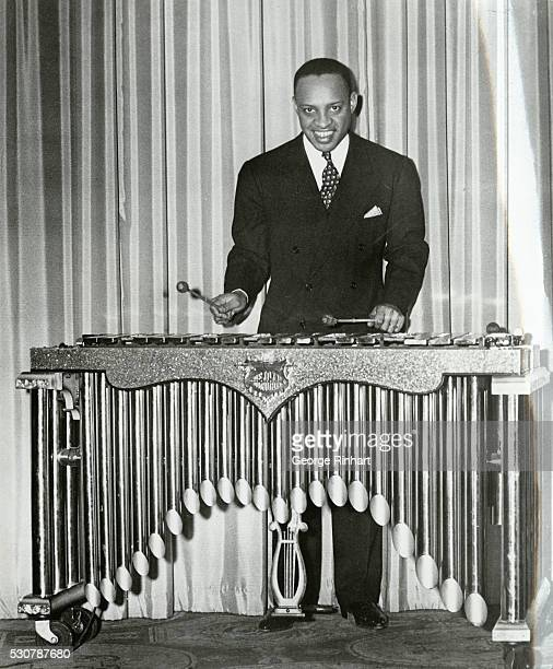 Lionel is a discovery of Benny Goodman who plays the piano, xelophone and the drums. Undated photo.