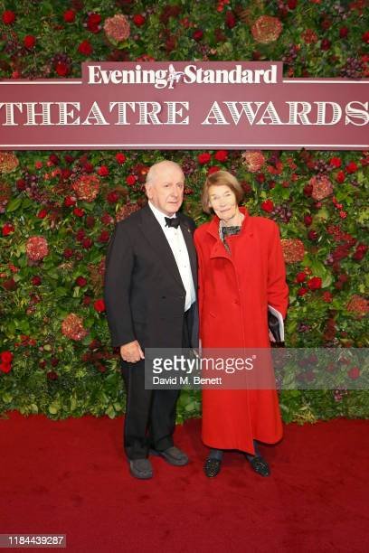 Lionel Larner and Glenda Jackson attend 65th Evening Standard theatre Awards in association with Michael Kors at the London Coliseum on November 24...