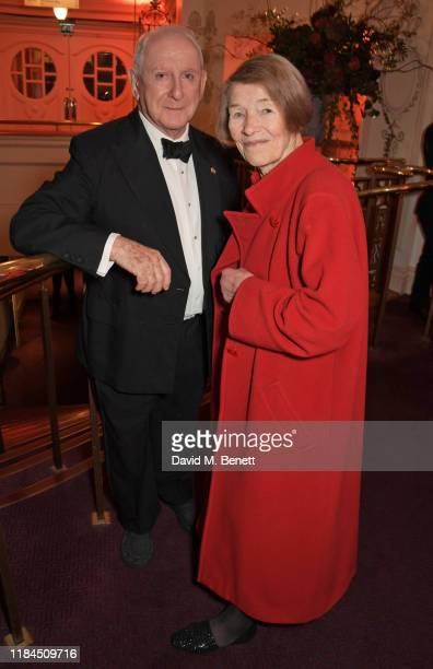 Lionel Larner and Glenda Jackson attend the 65th Evening Standard Theatre Awards in association with Michael Kors at the London Coliseum on November...