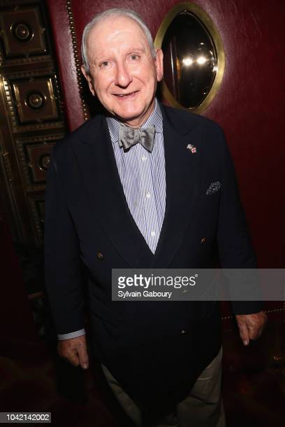 Lionel Larner attends David Patrick Columbia And Chris Meigher Toast The QUEST 400 At DOUBLES on September 27 2018 in New York City
