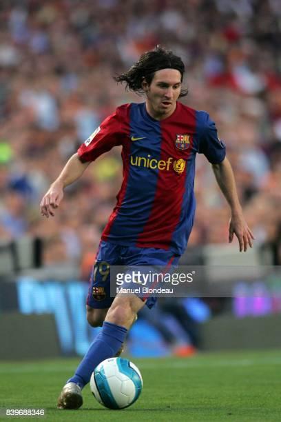 Lionel MESSI FC Barcelone / Espanyol Barcelone 37 eme Journee Liga
