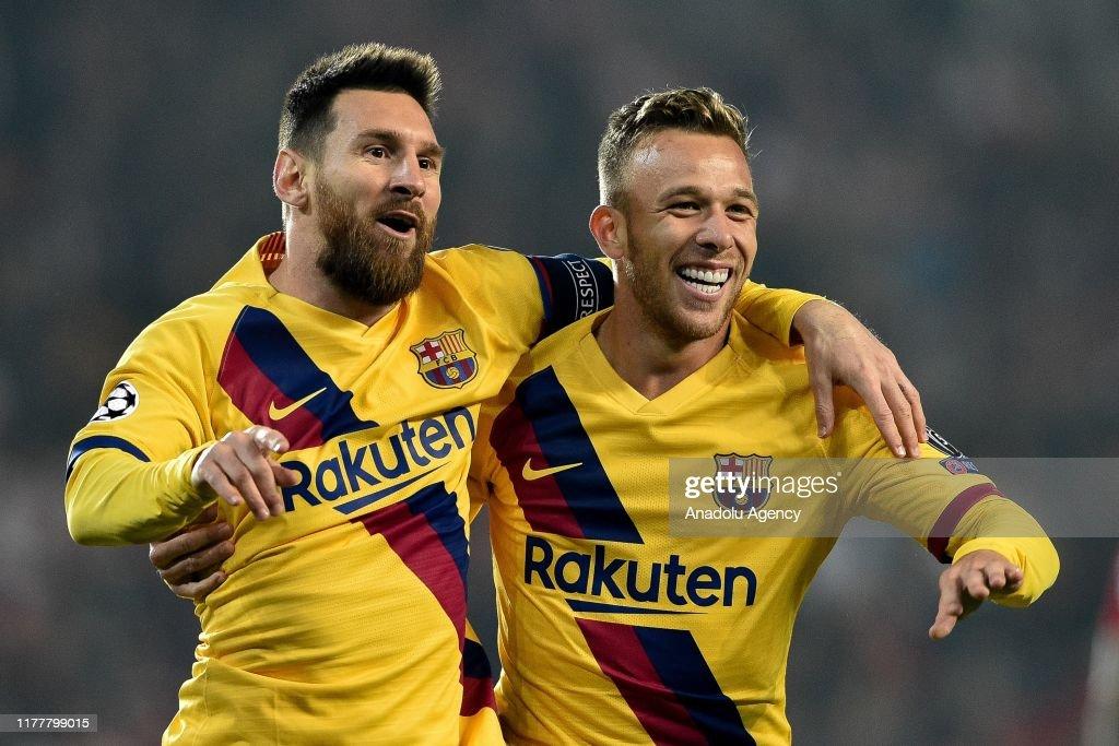 SK Slavia Prague v FC Barcelona - UEFA Champions League : News Photo