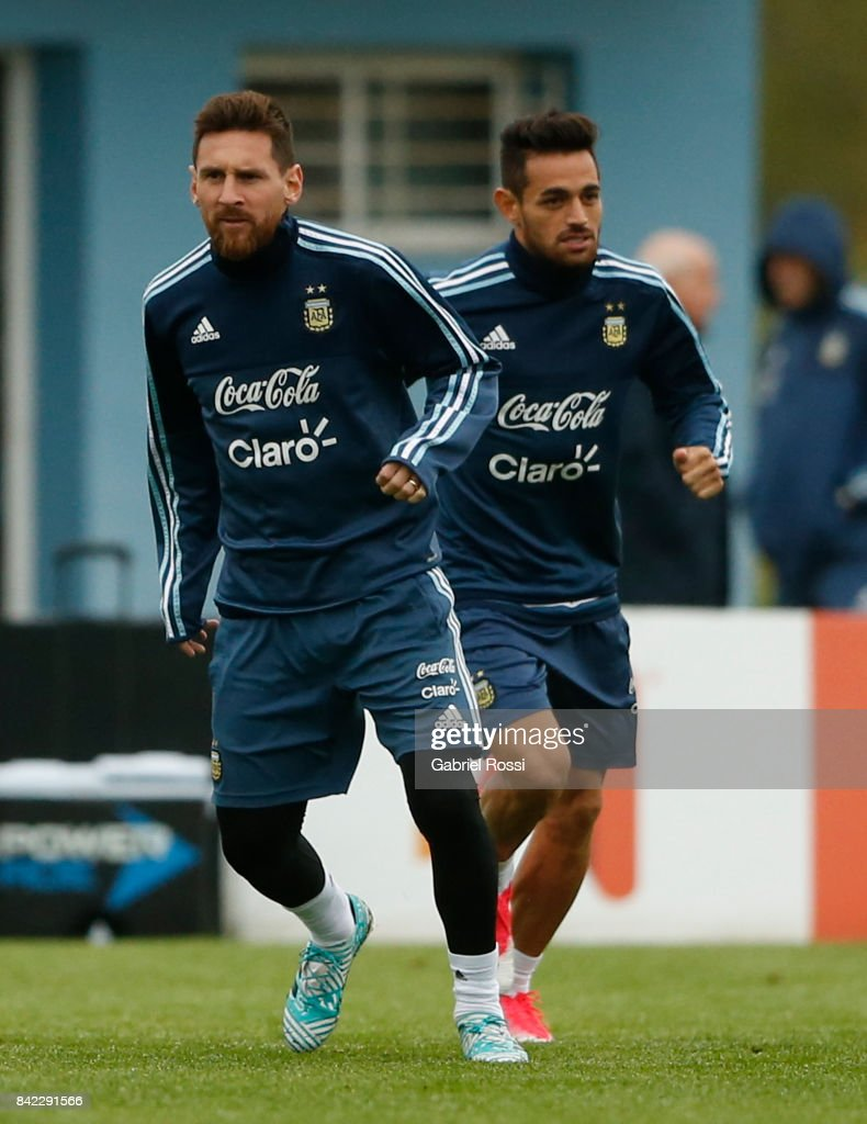 Argentina Trainig Session