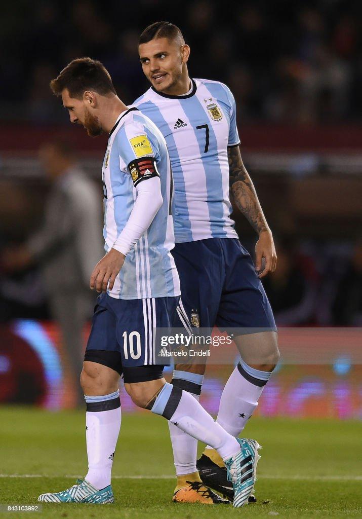 Argentina v Venezuela - FIFA 2018 World Cup Qualifiers : News Photo