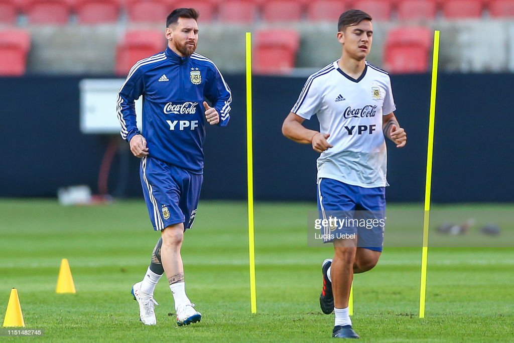 Argentina Press Conference & Training Session - Copa America Brazil 2019 : News Photo