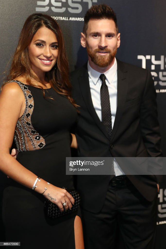 The Best FIFA Football Awards - Green Carpet Arrivals : News Photo