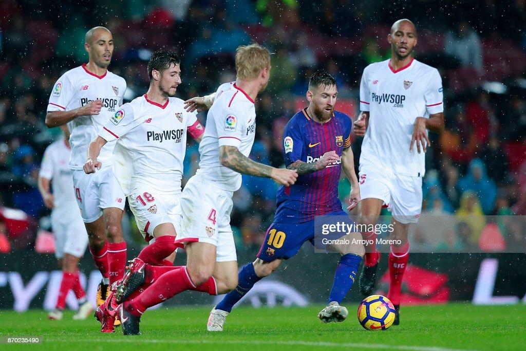 Barcelona v Sevilla - La Liga : News Photo