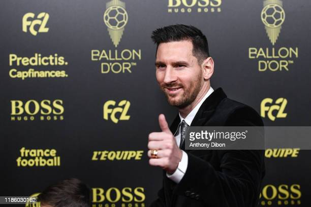 Lionel MESSI during the Ballon D'Or 2019 on December 2 2019 in Paris France