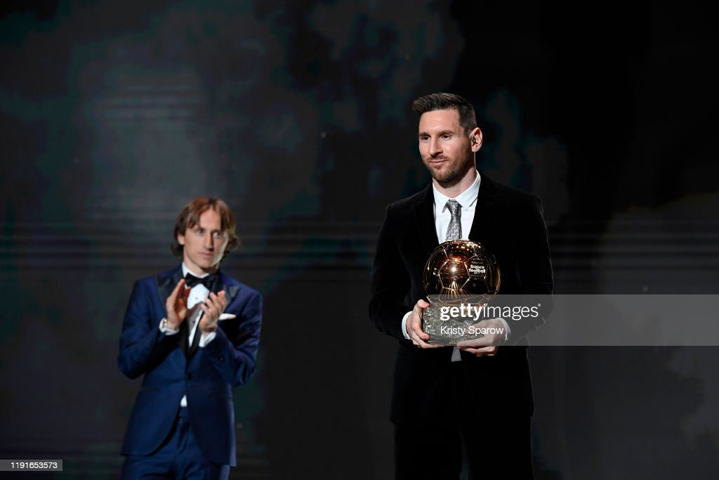 Ballon D'Or Ceremony At Theatre Du Chatelet : Inside Ceremony In Paris : News Photo
