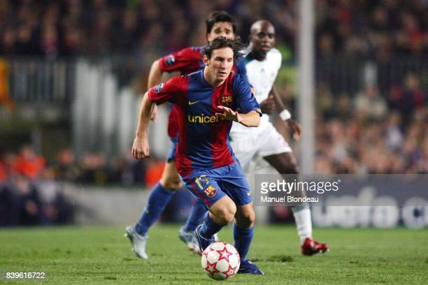 Lionel MESSI FC Barcelone / Liverpool FC 1/8 Final Champions League