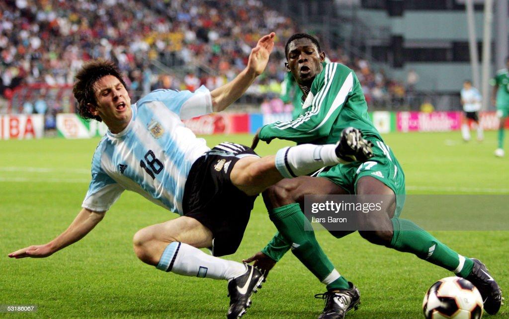 FIFA World Youth Championships 2005 Final Argentina v Nigeria : News Photo