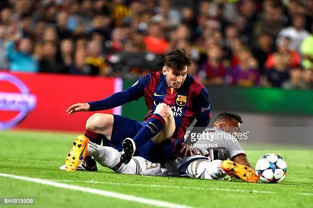 Lionel Messi Jerome Boateng FC Barcelona FC Bayern München 06 Mai in Barcelona SpanienFoto mspb/Jerry Andre