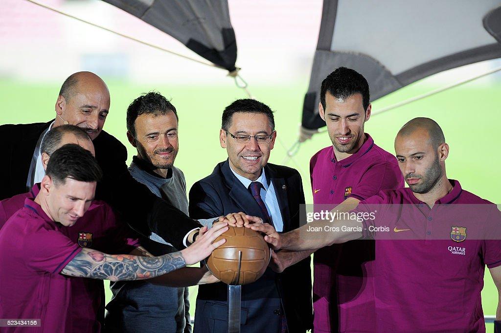 Nou Camp Nou Launch : News Photo