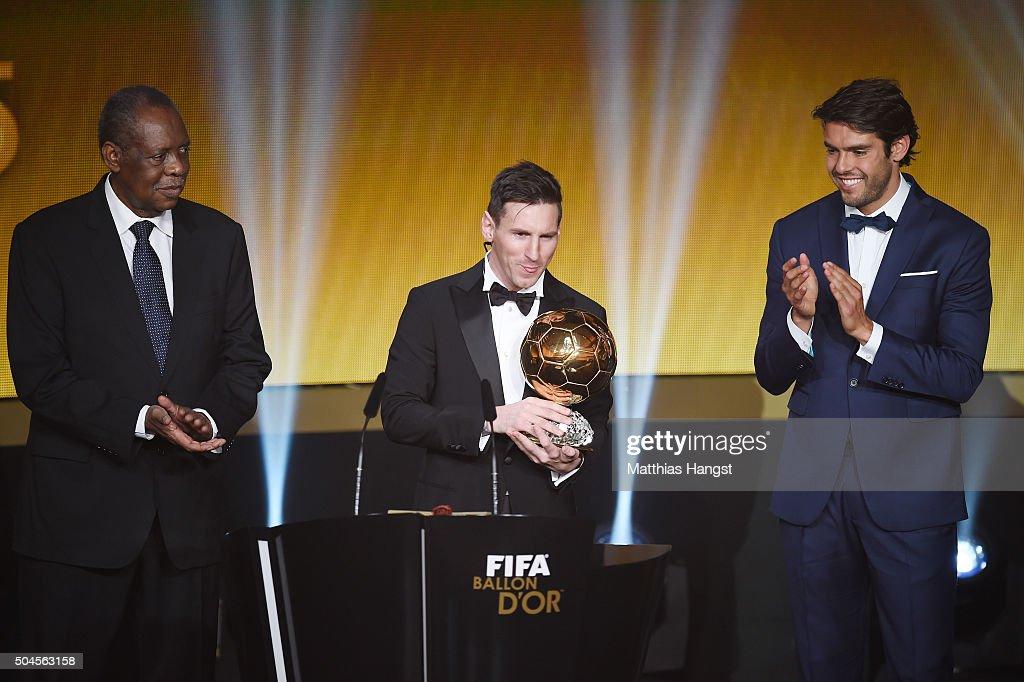 FIFA Ballon d'Or Gala 2015 : ニュース写真