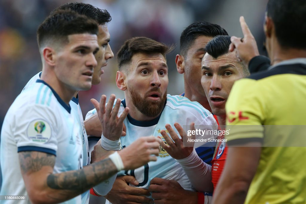 Argentina v Chile: Third Place Match - Copa America Brazil 2019 : News Photo