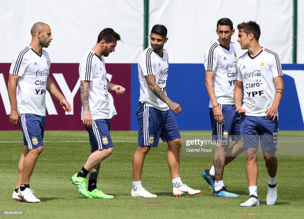 Argentina Training Session - FIFA World Cup Russia 2018 : News Photo