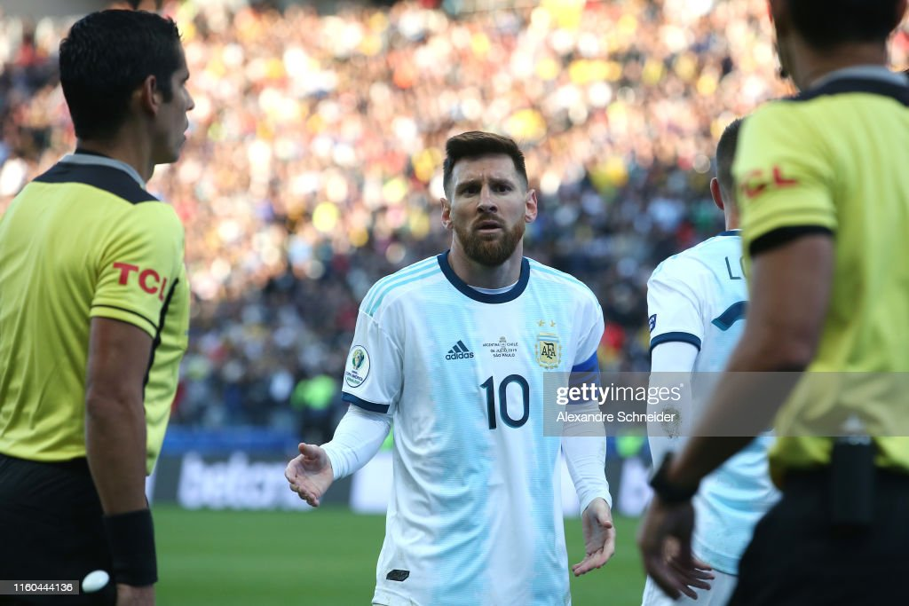Argentina v Chile: Third Place Match - Copa America Brazil 2019 : Fotografia de notícias